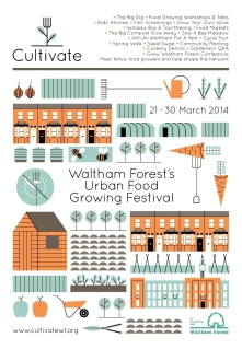 Cultivate Waltham Forest Brochure Cover